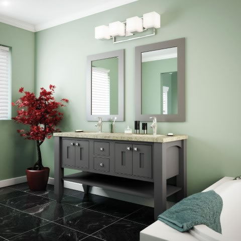 Mackay Maple Peppercorn Vanity